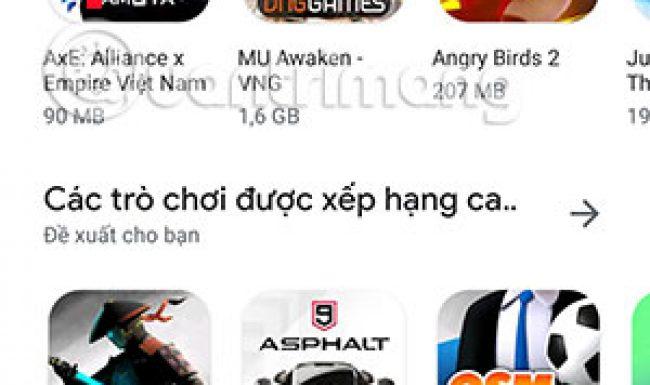 Hướng dẫn cập nhật ứng dụng Android