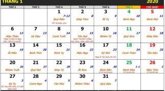 Hướng dẫn cài đặt lịch Vạn Niên đẹp cho smartphone