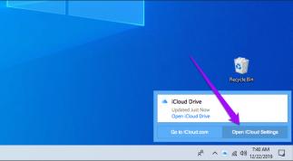 Hướng dẫn đổi vị trí lưu thư mục iCloud Drive trên Windows 10