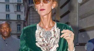 Celine Dion gầy gò đáng báo động