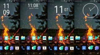 Hướng dẫn cách cài đặt Xperia Clock Widget trên Android mới nhất