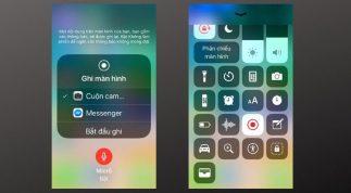 Hướng dẫn cách kết thúc video ghi lại màn hình iPhone không bị dư thời gian
