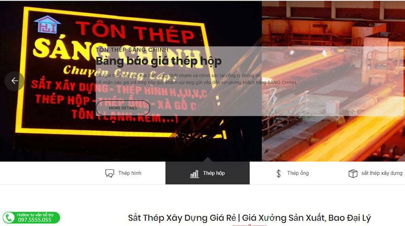 công ty Tôn thép Sáng Chinh
