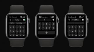 Ứng dụng Bàn phím Shift cho phép gõ tin nhắn trên Apple Watch