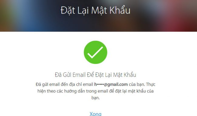 Cách lấy lại mật khẩu ID Apple khi bị mất