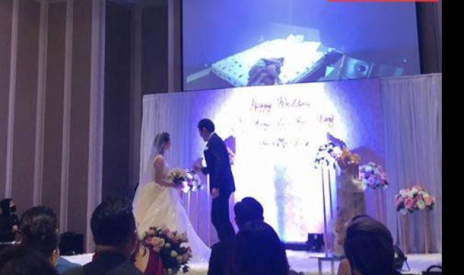 Cô dâu bị chú rể tung clip nóng trong ngày cưới là một MC nổi tiếng?