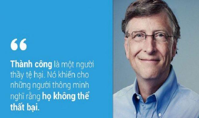 TOP 20 câu nói bất hủ của Bill Gates được chia sẻ nhiều nhất trên mạng xã hội