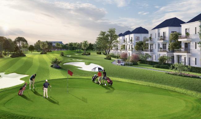 Xuất hiện khu biệt thự sân golf đầu tiên tại Long An