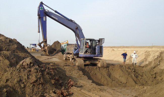 Sài Gòn CMCcung cấp báo giá cát xây dựng uy tín chất lượng