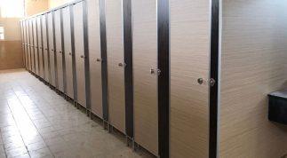 Vách ngăn vệ sinh chống thấm nước Hùng Phát